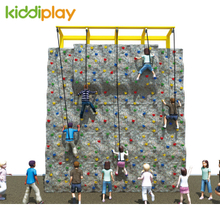 Interesting Baby Playground Climbing Wall Indoor for Garden