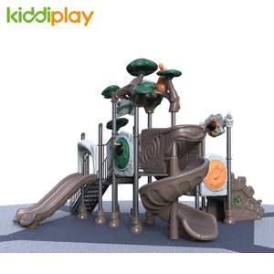 Outdoor Plastic Children Slide Playground Equipment