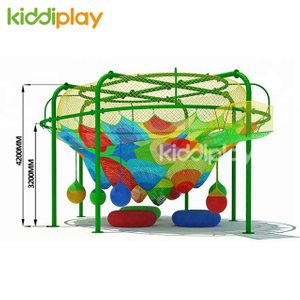 Naughty Castle Children Paradise Climbing Net Indoor Playground Equipment