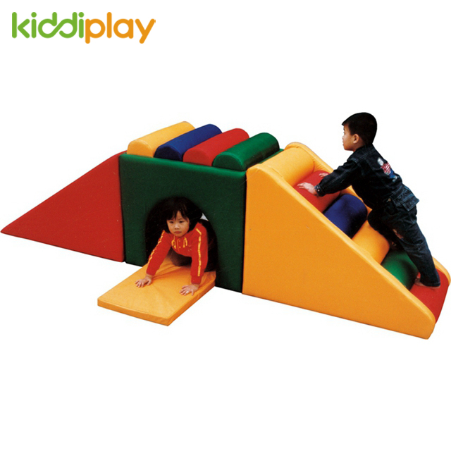 Exciting Durable Children Indoor Soft Slide Play Area for Kiddi