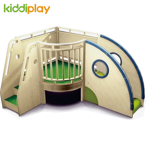 Cheap Price Kids Indoor Wooden Soft Playground Loft Furniture
