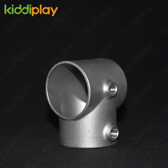 Indoor Playground Equipment Accessories Tube Connector 204 Stainless Steel