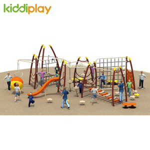 Play Set Children Outdoor Playground Climbing Nets