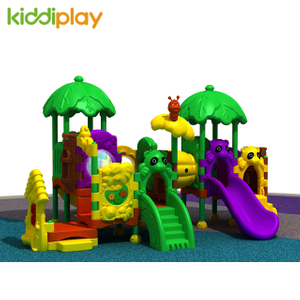 Quality-Assured Multi Function Plastic Series Children Outdoor Playground