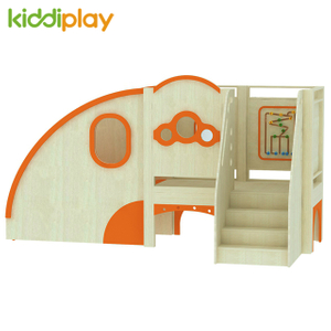 School Indoor Educational Wooden Ground Play Set