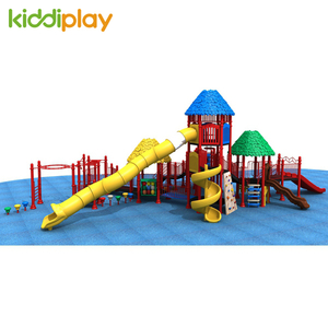 2018 New Design High Quality Outdoor Playground Kids Plastic Slide
