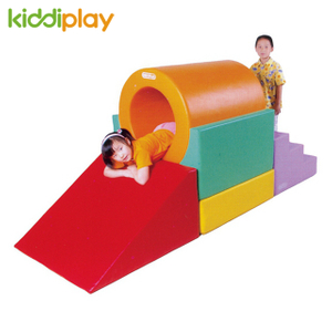 New Style Kids Indoor Soft Toddler Play with Slide Playground