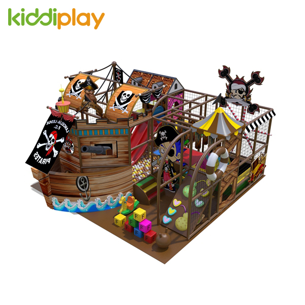 Pirate Ship Theme Tunnel Soft Play Kids Indoor Playground