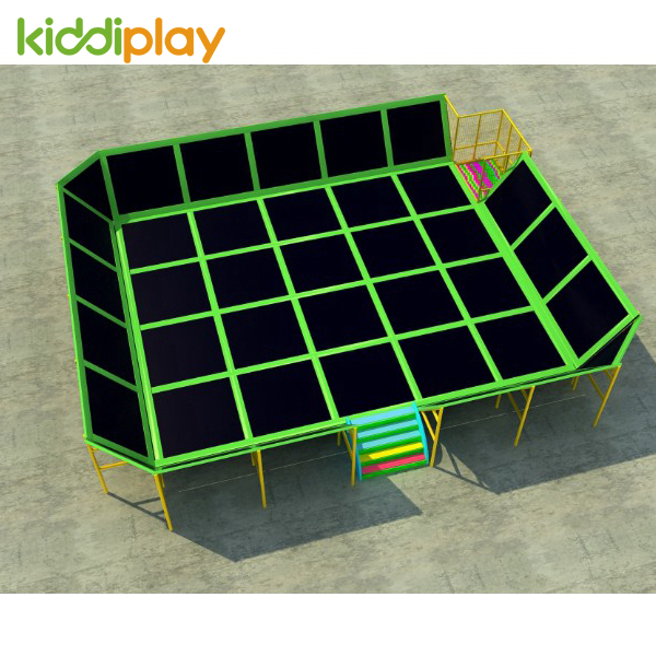 Outdoor and Indoor Exercise Trampoline Game Playground
