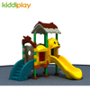 Fairy Tale Castle Used commercial kids plastic outdoor playground equipment