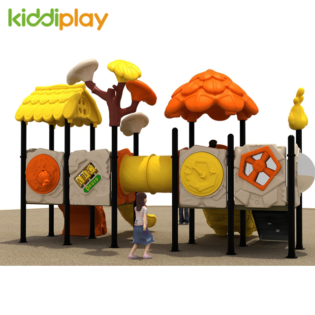 The Newest Plastic Kids Outdoor Playground, Slide Playground Outdoor Fitness Equipment