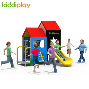 PE Board Children Outdoor Playground with Slide