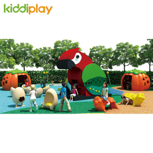 Cheap Price Children Wooden Series Outdoor Playground Amusement Slides Equipment