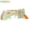 Preschool Educational Equipment Wooden Indoor Climbing And Slide Playground