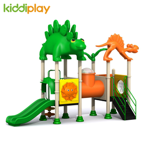 Plastic Slides Dinosaur Series Children Colorful Outdoor Playground Sets