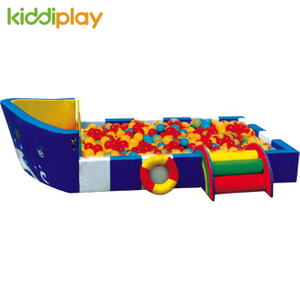 Indoor Children Playground Center Plastic Soft Toddler Play Ball Pit with Slide