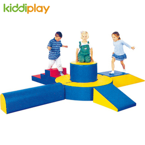 Popular kids playground indoor soft Toddler Play climber