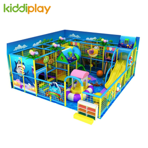 European Standard Indoor Kids Playground Design Colorful Equipment