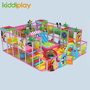 Indoor Colorful Castle Playground For Kids Equipment