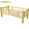 Kindergarten Wooden Children Guardrail Bed