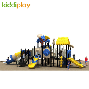 The Newest Plastic Kids Outdoor Playground, Amusement Park Outdoor Playground Equipment