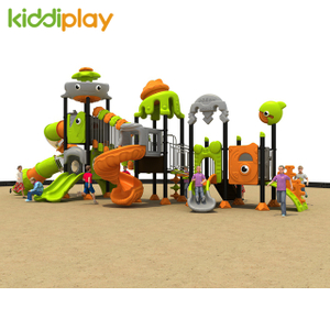 Cute Children Kindergarten Playground Plastic Slide Outdoor Ocean Series