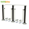 Physical Exercise High Safety Stainless Steel Outdoor Adult Fitness Equipment