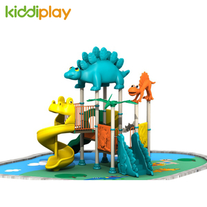 Hot Children Plastic Slide Dinosaur Series Outdoor Playground Equipment for Sale