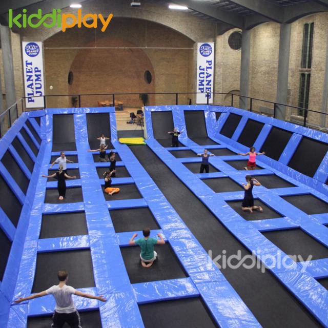 Attractive Kids The Cheap Trampoline Park Indoor Maze Gymnastics Trampolines for Sale