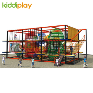 Children Outdoor And Indoor Rope Course Playground Big Climbing for Sale