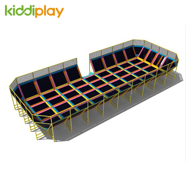 Good Quality Indoor Trampoline For Commercial Park Playground