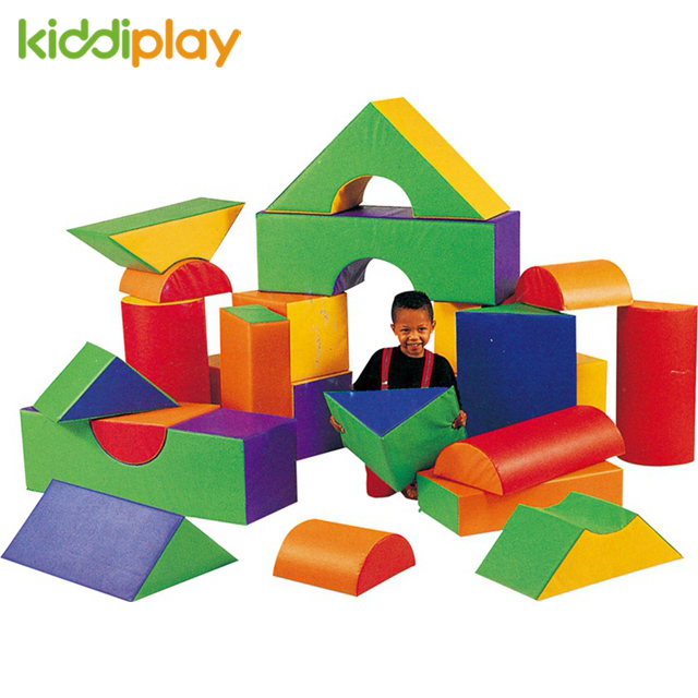 Soft Color Toy Building Blocks for Kids Education