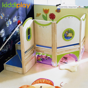 Children Wooden Soft Games Indoor Playground Equipment