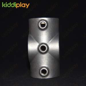 Indoor 204 Stainless Steel Accessories Tube Connector Playground Equipment
