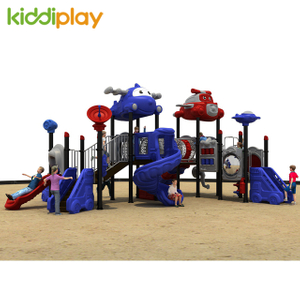 CE Certificated Kids Airport Series Best Price Children Playground Outdoor Slide
