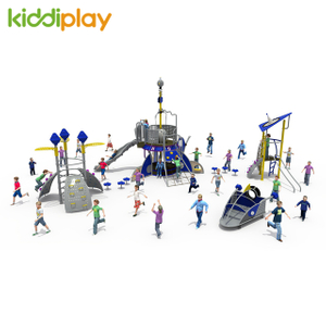 Interactive Playground Equipment Climb Slide Sets Children Large Outdoor Playgrounds
