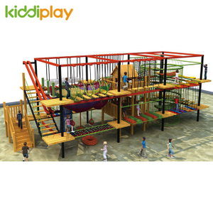 New Design Indoor Large Rope Course Outdoor Climbing Adventure Playground