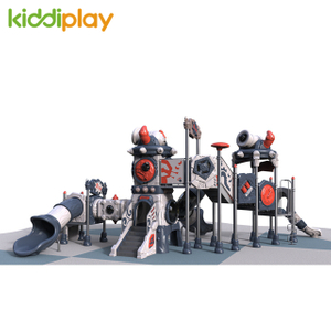 Large Amusement Park Children Outdoor Playground