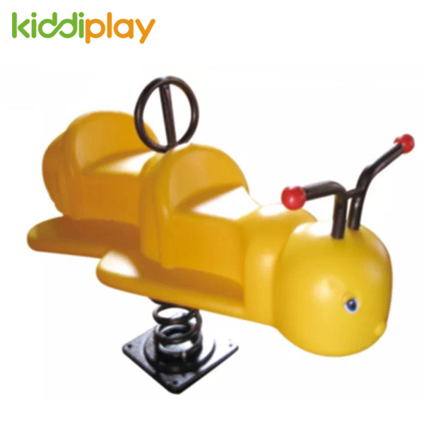 Outdoor Double Little Bee Spring Rider for Children Play