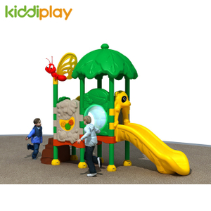 Popular Children Outdoor Playground Small Plastic Series Amusement Park