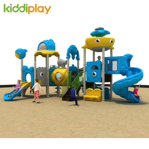 China Large Plastic Ocean Series Theme Outdoor Playground