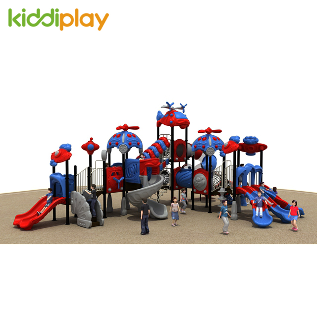 China Custom Popular Amusement Park, Commercial Outdoor Playground Children Slide