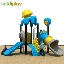 Children Outdoor Playground Plastic Slide Equipment
