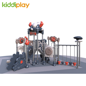 Factory Price Plastic Slide Kindergarten Kids Fitness Climbing Playground Equipment