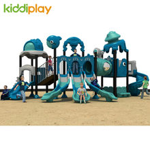 Commercial Outdoor Playground Kids Dream Ocean World Slide Equipment