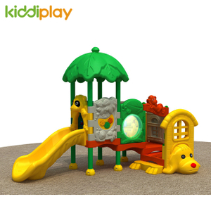 Kiddi Play Fairy Tale Castle Plastic Slide Small Series Kids Outdoor Playground