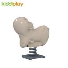 Custom Rocking Horse Toy Children Spring Rider, Playground Accessories Rider on Spring Toys