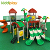 Hot Play Equipment with Multi-slides for Amusement Park