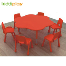 Daycare Furniture Kids Desk And Chair Plastic Children Table And Chair