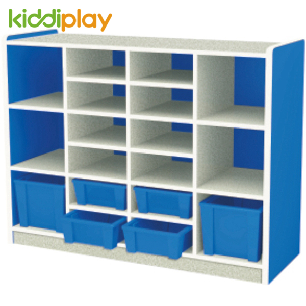 Nursery School Wooden Toy Storage Colorful School School